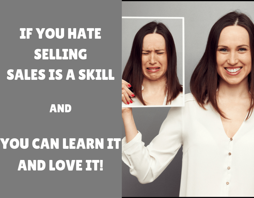 Sales is a Skill